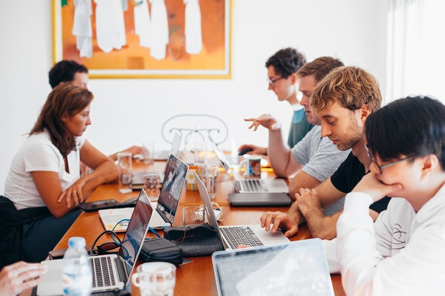diverse group business meeting IT tech pexels